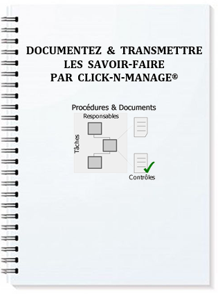 Manuel - Documentez & transmettre les savoir-faire par Click-N-Manage®